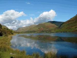 Talyllyn Lake in South Snowdonia