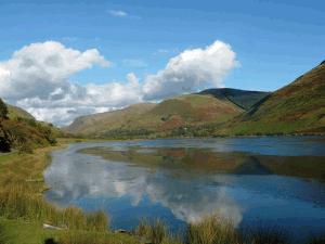 Talyllyn Lake in South Snowdonia